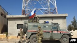 Российская военная полиция на севере Сирии