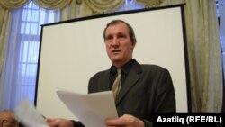 Михаил Шеглов - председатель Общества русской культуры Татарстана