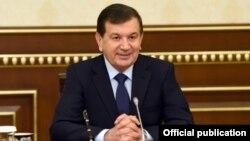Uzbek President Shavkat Mirziyaev