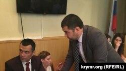 Advokatlar Emil Kürbedinov ve Edem Semedlâyev