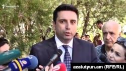 Вице-спикер Национального Собрания, представитель правящей фракции «Мой шаг» Ален Симонян