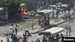 Првичните информации беа дека пет лица загинале во немирите