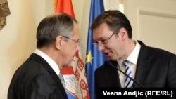 """Lavrov preneo Vučiću da se """"Rusija neće mešati u unutrašnja pitanja Srbije"""""""
