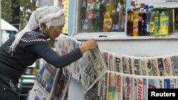 Сайлау күнгі газеттер. Бішкек, 11 қазан 2010 жыл