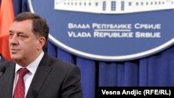 Milorad Dodik tokom nedavne posjete Beogradu, januar 2014.