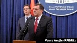 Milorad Dodik u Beogradu