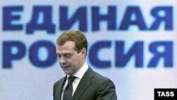 سومين رييس جمهوری فدراسيون روسيه ۴۸ سال دارد و در رشته حقوق تحصیل کرده است.(عکس: ایتار تاس)
