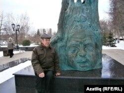 """Әнүрбик Гобәйдуллин """"Кисекбаш"""" кырында"""