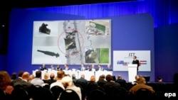 Під час презентації результатів розслідування, Нівегейн, Нідерланди, 28 вересня 2016 рокуT
