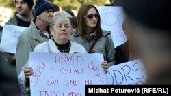 Protesti u Sarajevu i Mostaru 13. februara