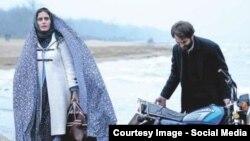 الناز شاکردوست و هادی دیباجی در فیلم «تابو»