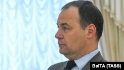 Раман Галоўчанка падчас сустрэчы з Лукашэнкам 3 чэрвеня 2020