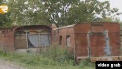 Şəkinin bir kəndində məktəb