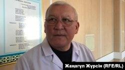 Жақсылық Досқалиев, Ұлттық трансплантация орталығының директоры. Ақтөбе, 6 желтоқсан 2018 жыл.
