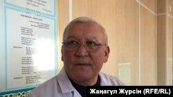 Руководитель республиканского центра трансплантации Жаксылык Доскалиев. Актобе, 6 декабря 2018 года.