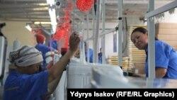 Оштогу сыналгы чыгарган кыргыз-кытай заводу