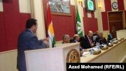 اساتذة وصحفيون من بغداد في السليمانية