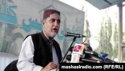 د بلوچستان نیشنل پارټۍ مشر اختر مېنګل