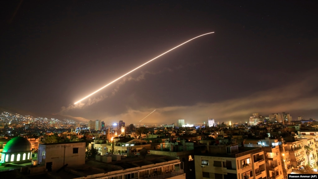 Bildergebnis für حمله امریکا به سوریه