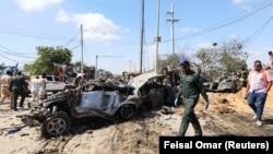 Авіаудари сталися на наступний день після вибуху в сомалійській столиці Мокадішу, який забрав життя щонайменше 78 людей та поранив 125