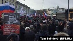 """Moskvada """"Boris Nemtsov"""" yürüşü keçirilir"""