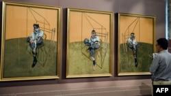 """Piktura """"Tri studimet e Lucian Freud"""" e Francis Baconit"""