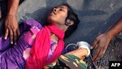 Жінка, врятована з-під завалів через два тижні після трагедії