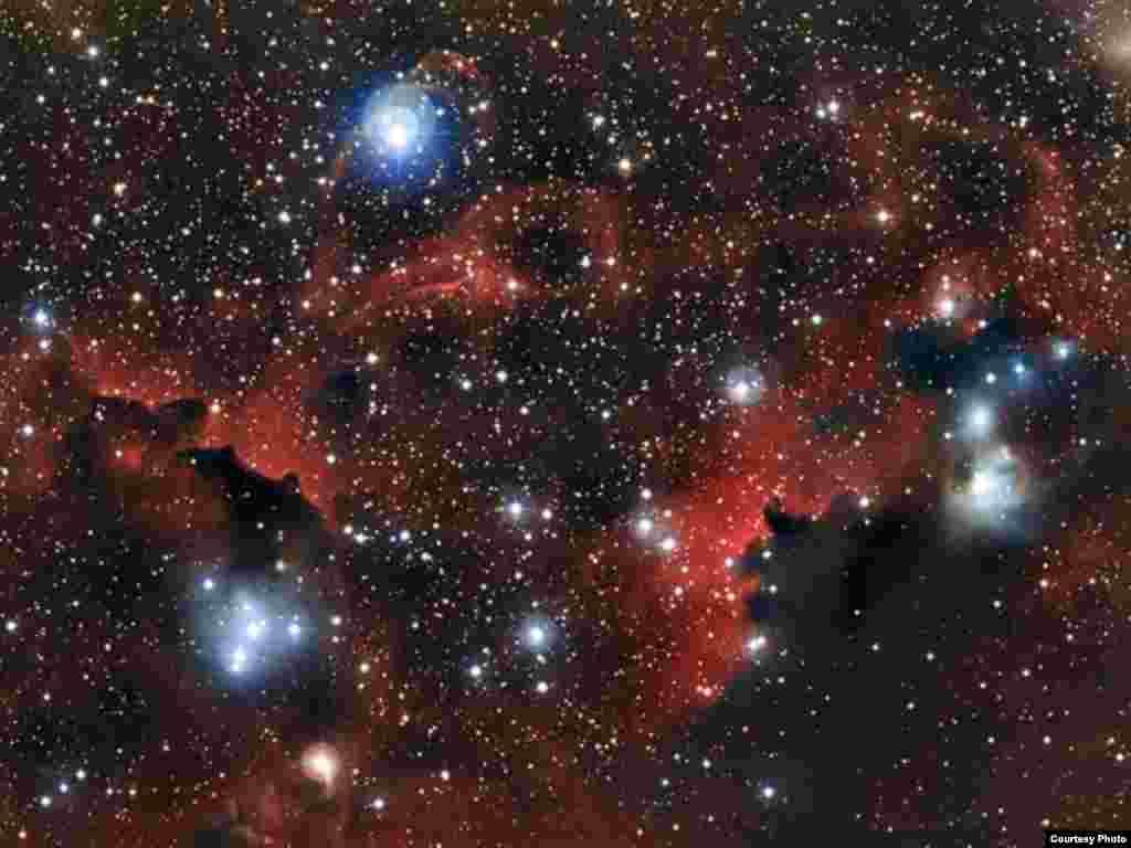 Құс жолындағы «Шағала» тұмандығы. Еуропалық оңтүстік обсерваториясы түсірген сурет. 6 ақпан 2013 жыл