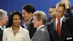 Перед началом экстренной встречи членов НАТО на уровне глав МИД
