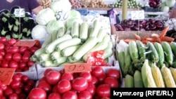 Продукты в Крыму, иллюстрационное фото