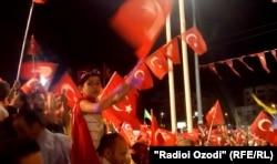 Митинг в Стамбуле. 26 июля