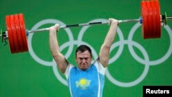 Александр Зайчиков Рио олимпиадасында. 15 тамыз 2016 жыл.