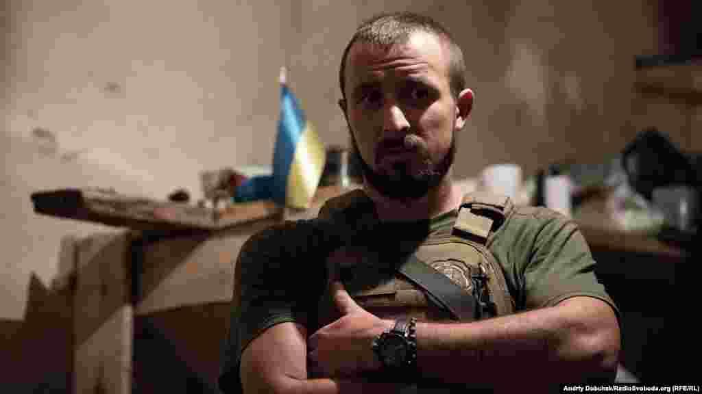 Солдат із позивним «Паштет». Сам родом із Росії. На війні з 2015-го