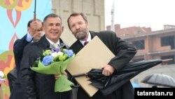 «Кол Шәриф» мәчет комплексы авторлары төркеменә Тукай бүләге тапшырылды