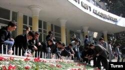 Dövlət Neft Akademiyasındakı qanlı terror nəticəsində 12 nəfər müəllim və tələbə öldürülmüşdü