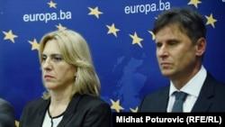 Premijeri RS i Federacije BIH, Željka Cvijanović i Fadil Novalić