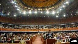 Pakistan's parliament in Islamabad