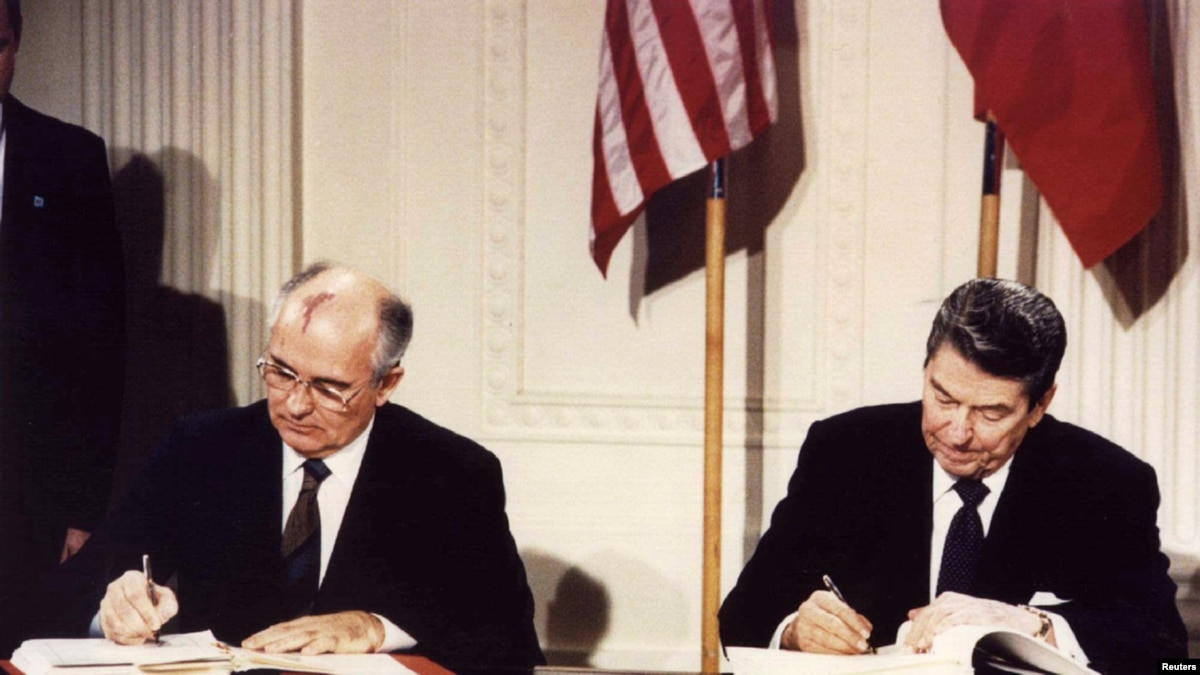 the role of ronald reagan and mikhail gorbachev in ending the cold war President ronald reagan  mikhail gorbachev  vision for dealing with the soviet union and ending the cold war reagan's approach was remarkably.