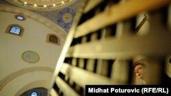 Aleksandar Vučić u poseti Gazi Husrev-begovoj džamiji u Sarajevu