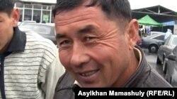 Қалман, көлік сатып алушы. Алматы, 29 қыркүйек 2012 жыл.