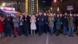 Протест на ВМРО-ДПМНЕ, побарани оставки на министри и ТВ дуел со Заев