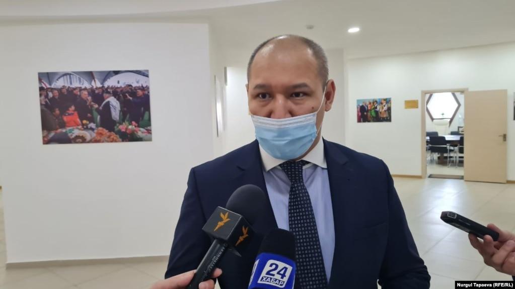 Вице-президент фонда «Отандастар» Магауия Сарбасов. Нур-Султан, 12 марта 2021 года.