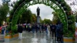 Russian Opposition Rally Slams 'Foreign Agent' Law