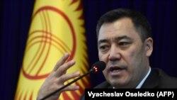 Садыр Жапаров. 10-октябрь, 2020-жыл.