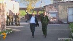 Նիկոլ Փաշինյանը ազատ արձակվեց