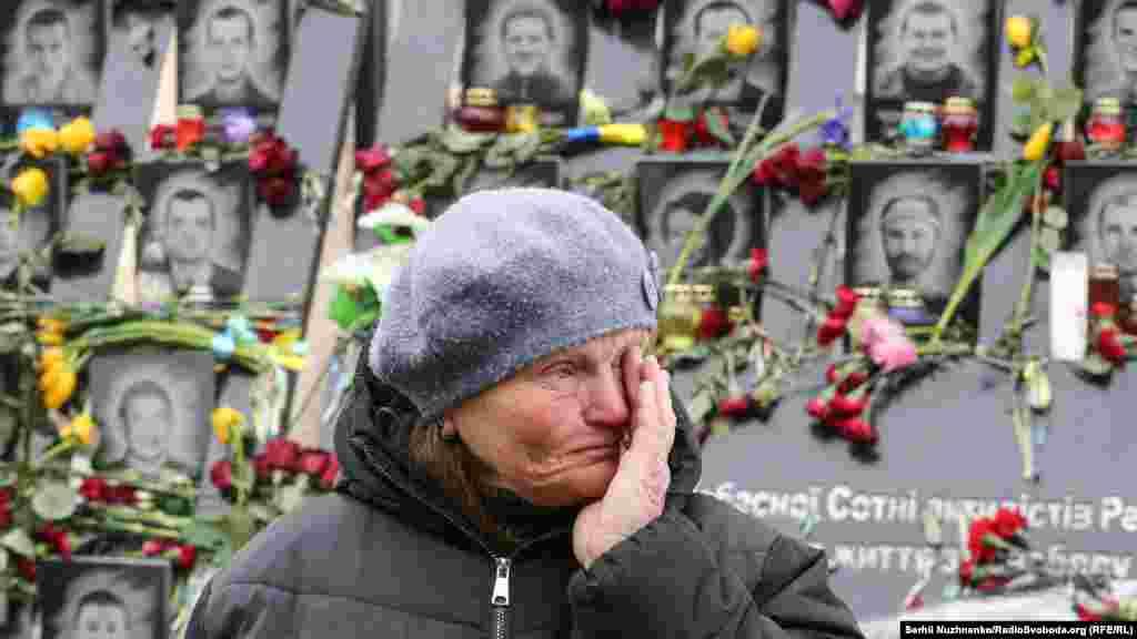 Ucraina - Comemorarea victimelor Euromaidanului, 20 februarie 2021.