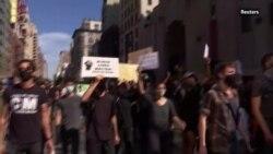 Протесты в США продолжаются