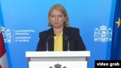 ნათია თურნავა, საქართველოს ეკონომიკისა და მდგრადი განვითარების მინისტრი