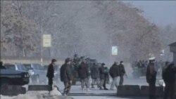 ستیزه جویان طالبان در مرکز کابل