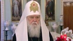 Патріарх Філарет звернувся до народу із Різдвяним посланням